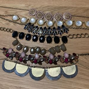 6 statement necklace collection